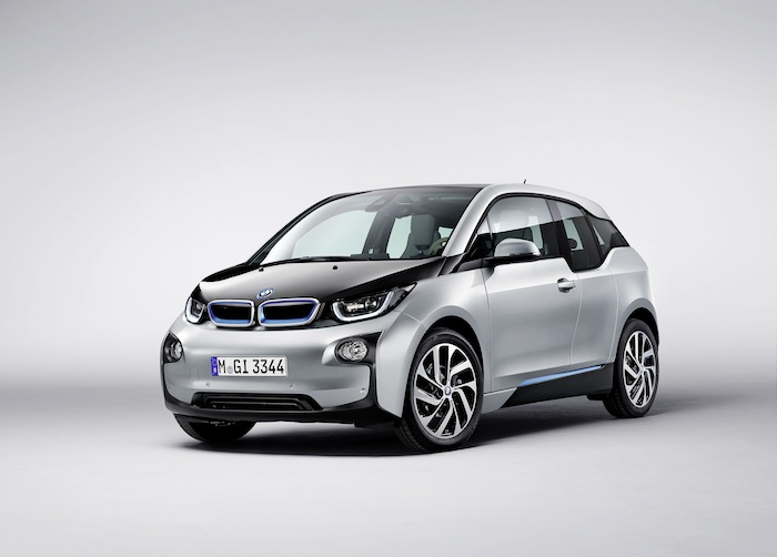 BMW i3: электрический привод
