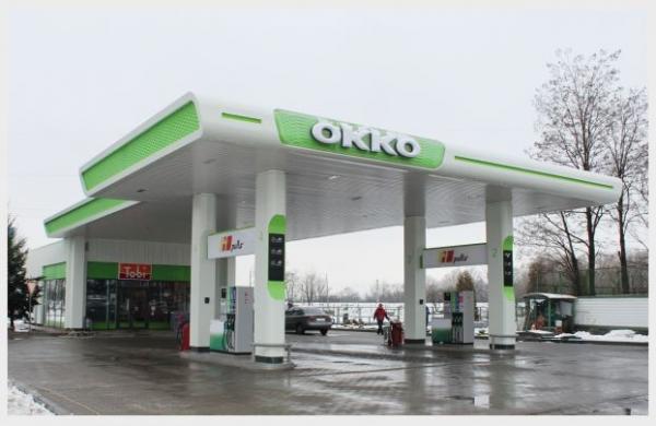 Заправки «ОККО» для электромобилей в Украине