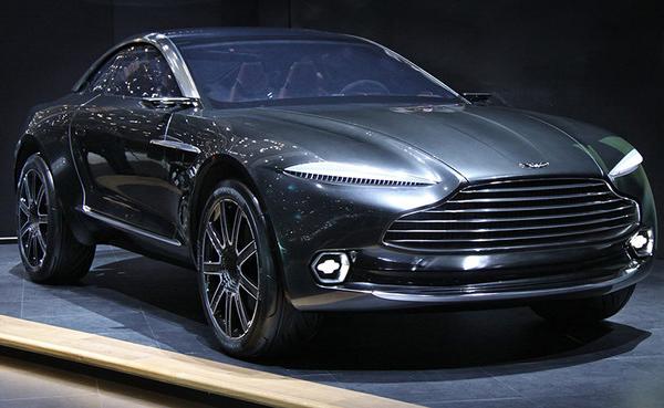 Женева 2015. Внедорожник от Aston Martin